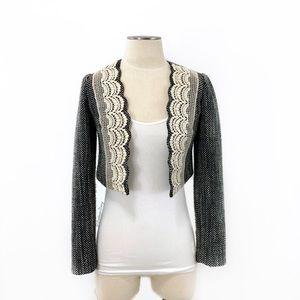 Anthropologie- Tabitha Tweed Crop Jacket SZ 2